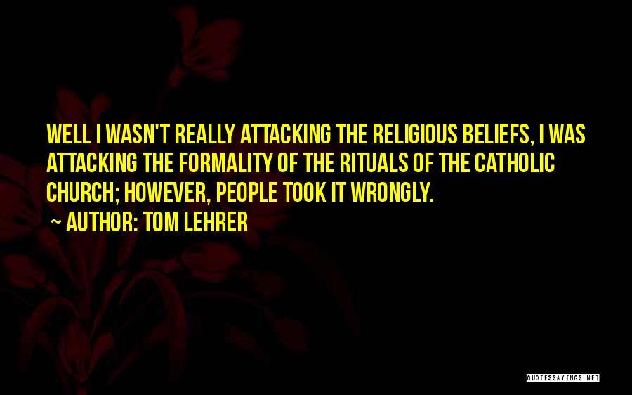 Tom Lehrer Quotes 1326601