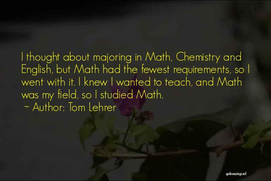 Tom Lehrer Quotes 1482189