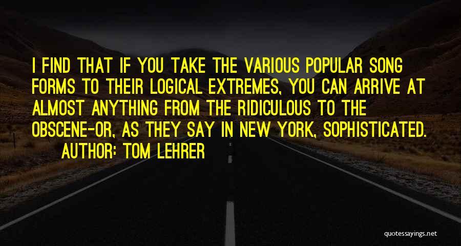 Tom Lehrer Quotes 1751453