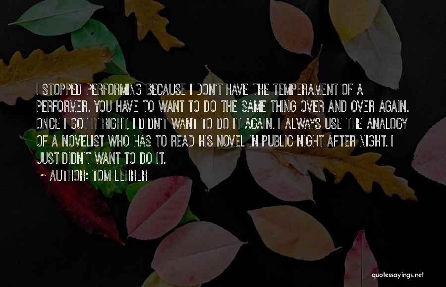 Tom Lehrer Quotes 1855086