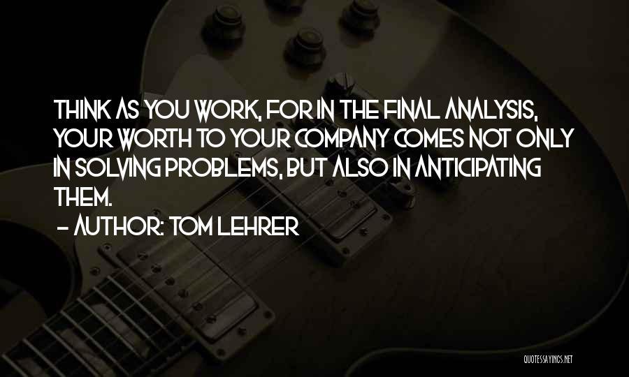 Tom Lehrer Quotes 231678