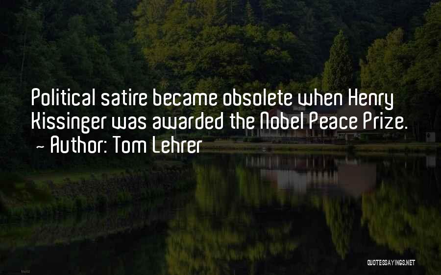 Tom Lehrer Quotes 318932