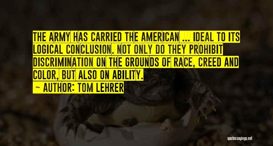 Tom Lehrer Quotes 935967