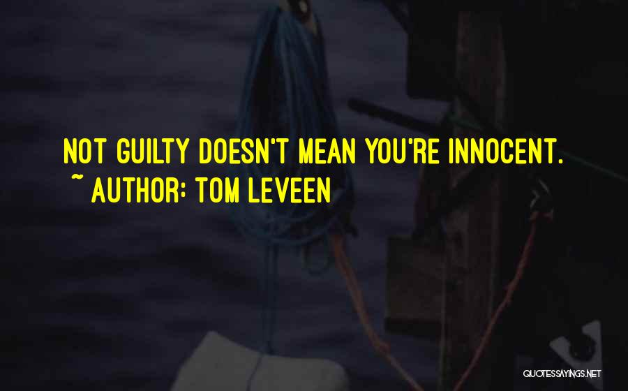 Tom Leveen Quotes 307861