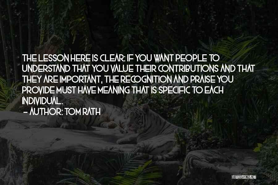 Tom Rath Quotes 283913
