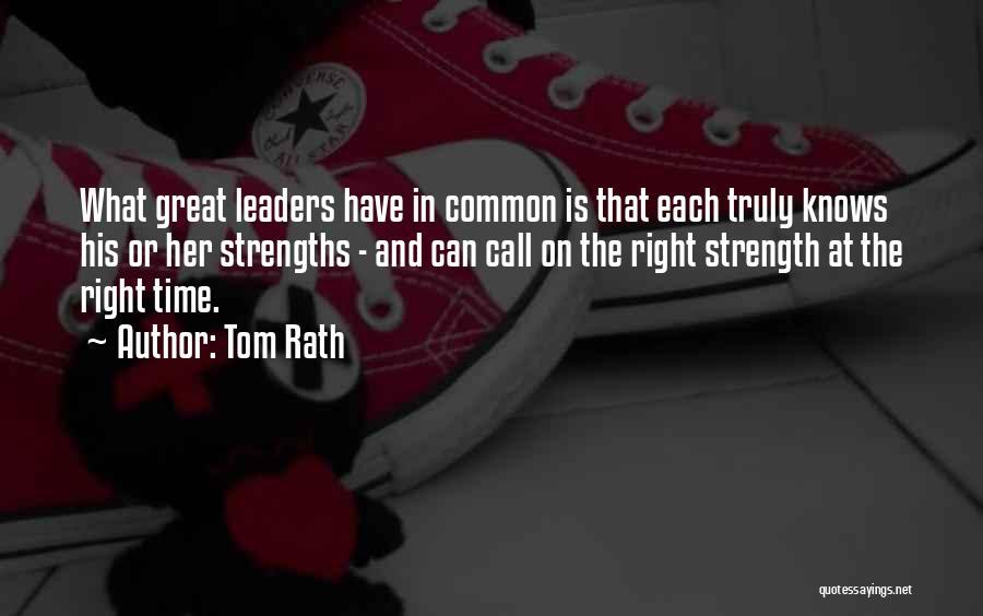 Tom Rath Quotes 497399