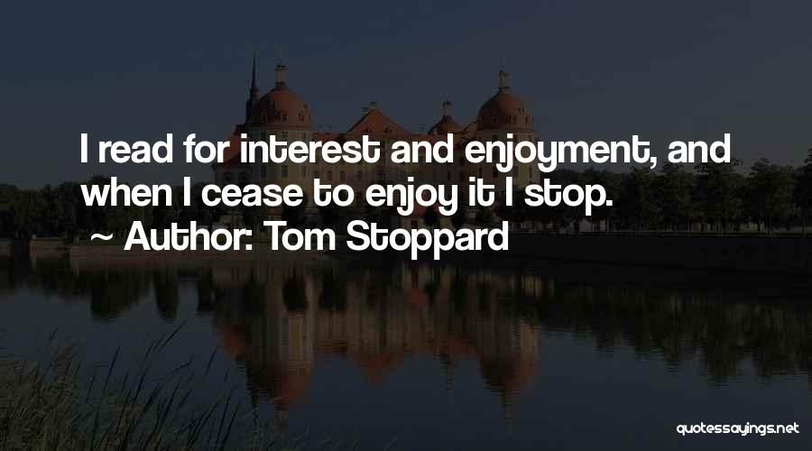 Tom Stoppard Quotes 1274289