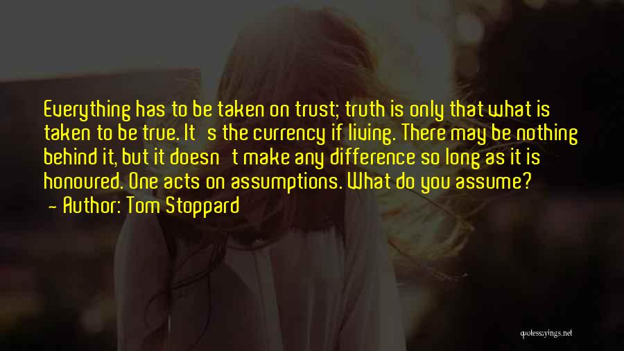 Tom Stoppard Quotes 128304
