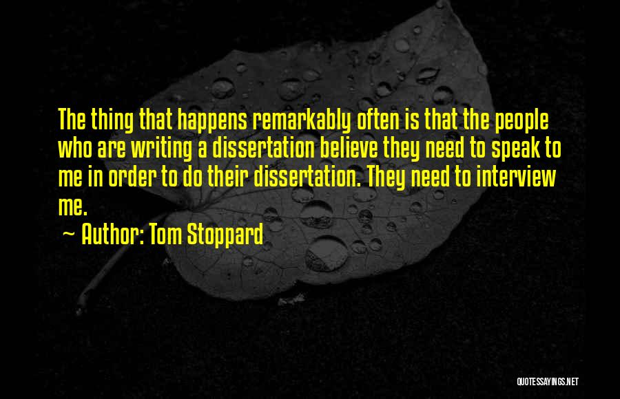 Tom Stoppard Quotes 1675386