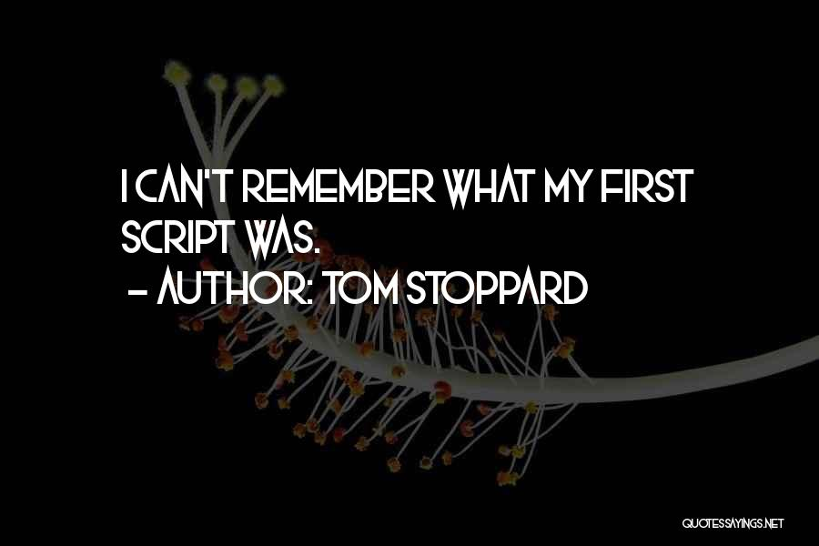 Tom Stoppard Quotes 1970289