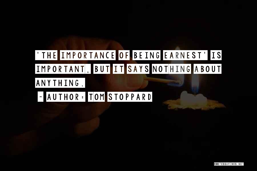 Tom Stoppard Quotes 2124791