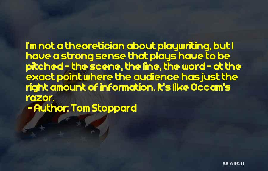 Tom Stoppard Quotes 2203680
