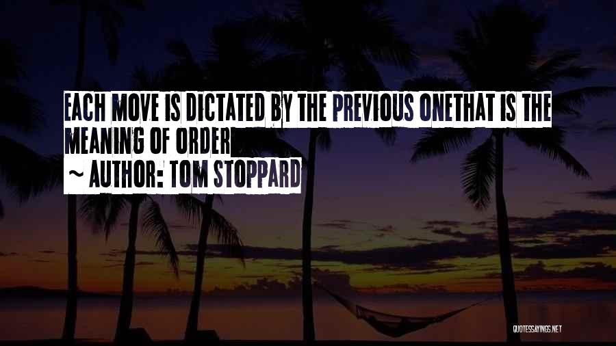 Tom Stoppard Quotes 264727