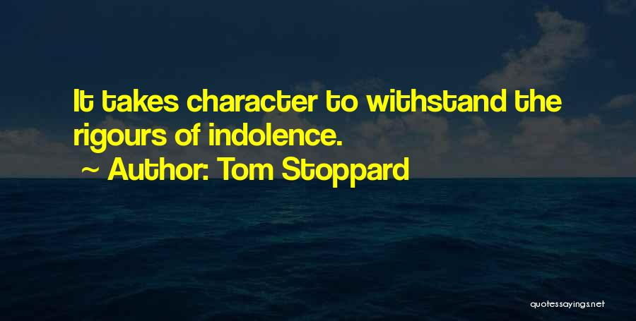 Tom Stoppard Quotes 311986