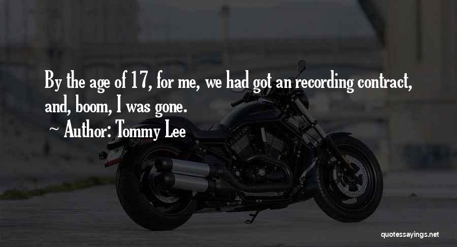 Tommy Lee Quotes 1237453