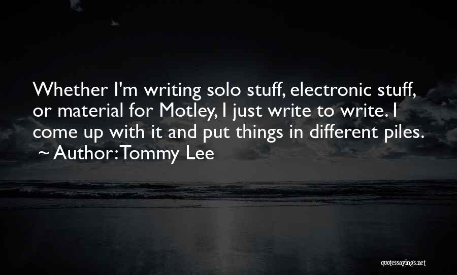 Tommy Lee Quotes 1936001