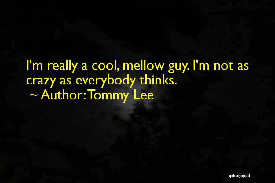Tommy Lee Quotes 375332