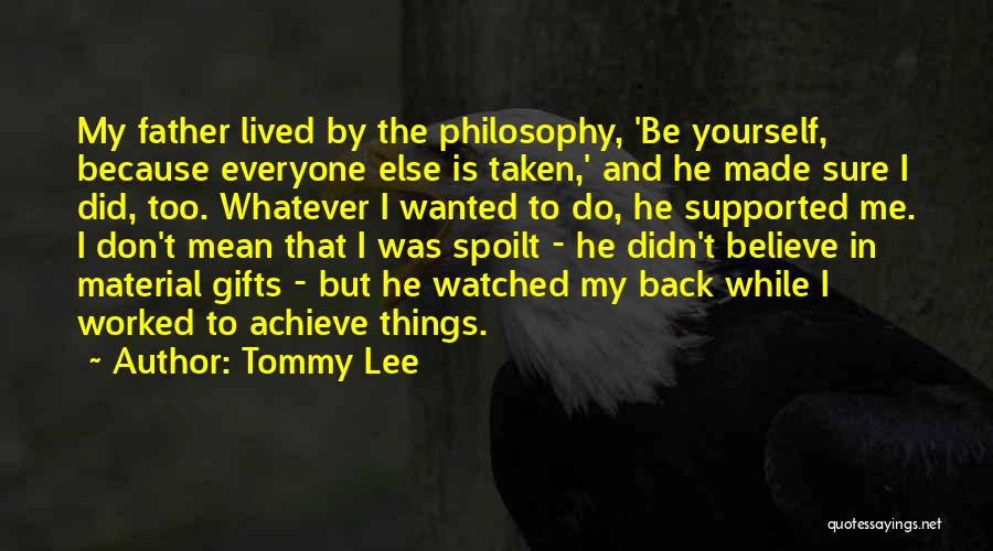 Tommy Lee Quotes 993498