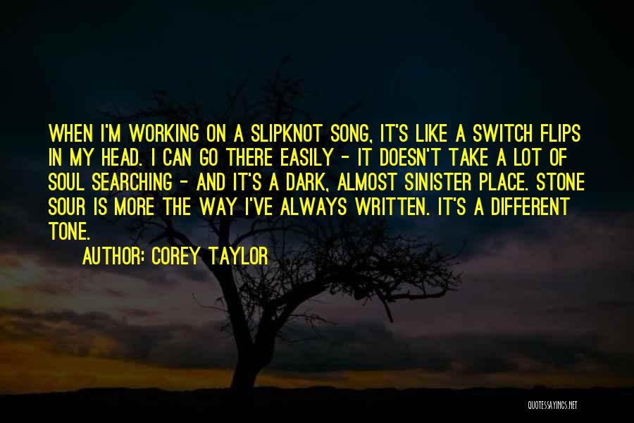 Tone Quotes By Corey Taylor