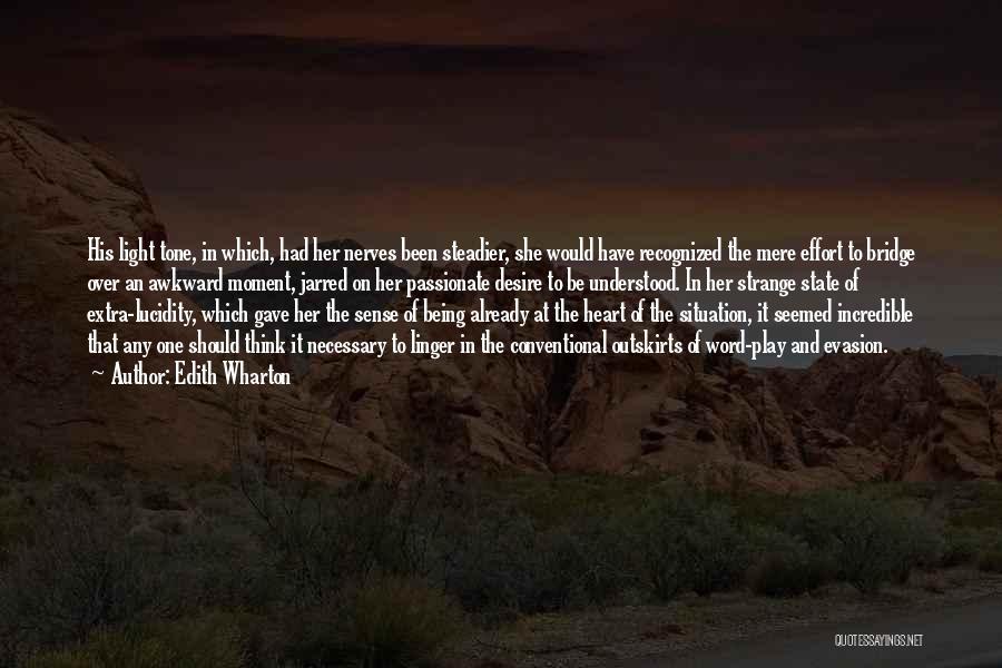 Tone Quotes By Edith Wharton