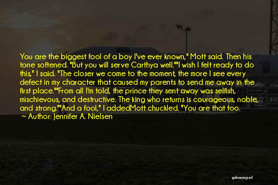 Tone Quotes By Jennifer A. Nielsen