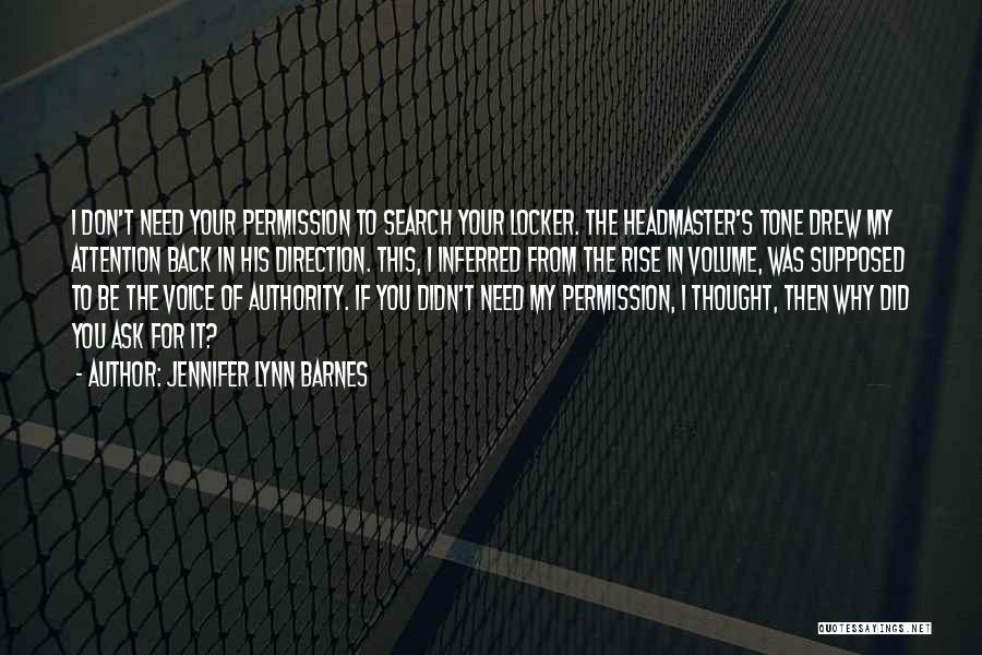 Tone Quotes By Jennifer Lynn Barnes