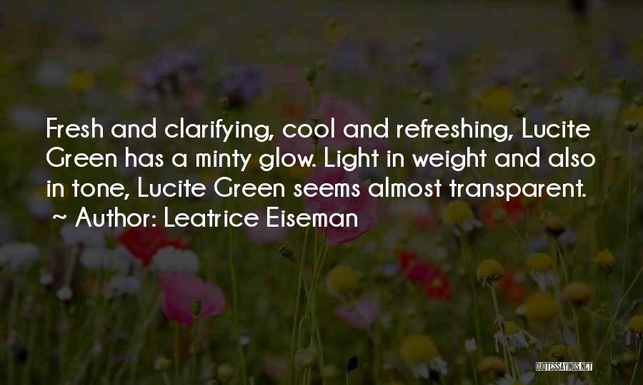 Tone Quotes By Leatrice Eiseman