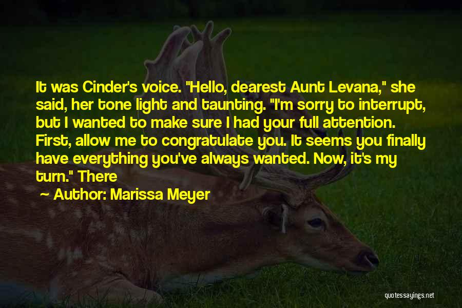 Tone Quotes By Marissa Meyer