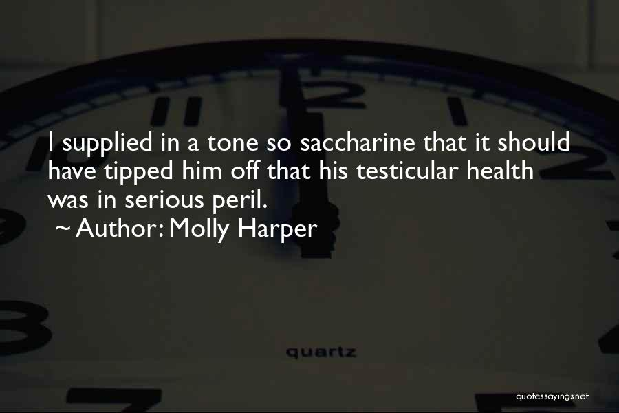 Tone Quotes By Molly Harper