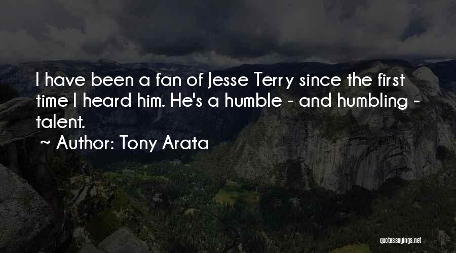 Tony Arata Quotes 584706