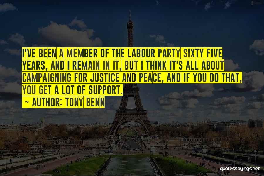 Tony Benn Quotes 1085083