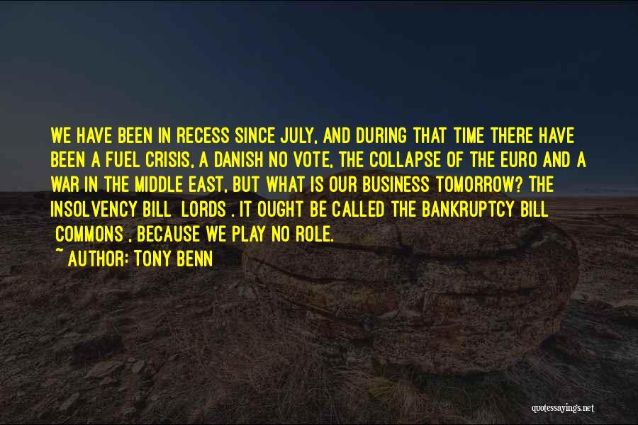 Tony Benn Quotes 194369