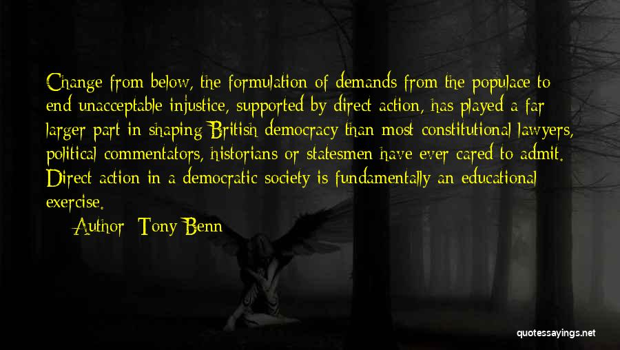 Tony Benn Quotes 2227835