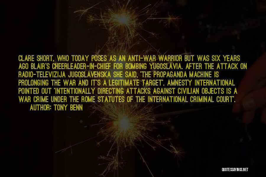 Tony Benn Quotes 865837