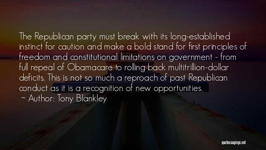 Tony Blankley Quotes 1390901