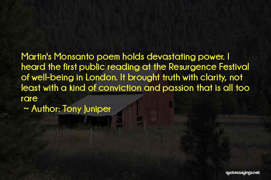 Tony Juniper Quotes 182403
