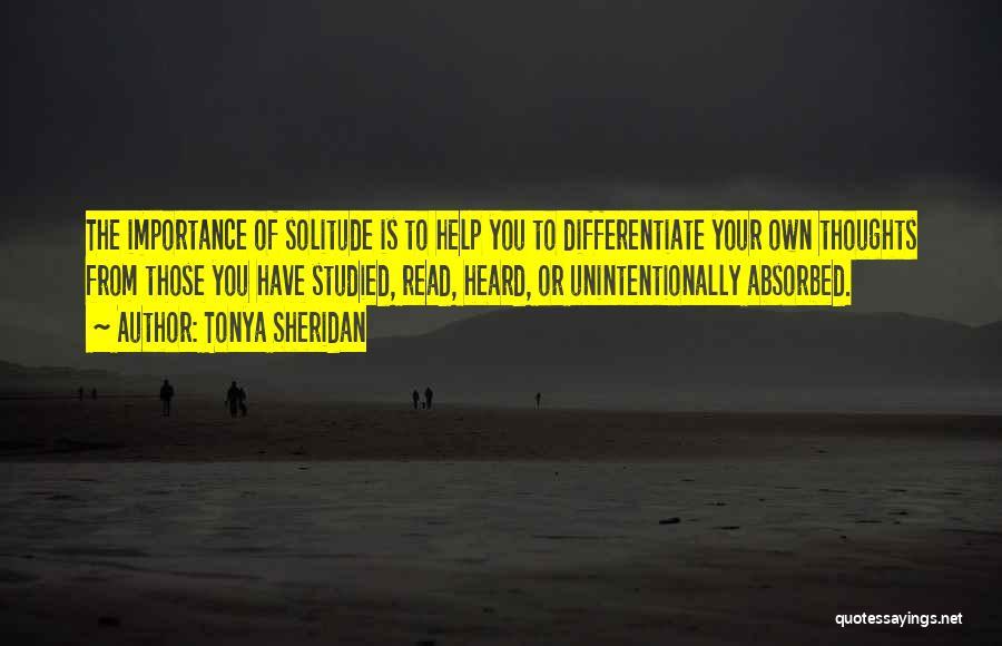 Tonya Sheridan Quotes 271766