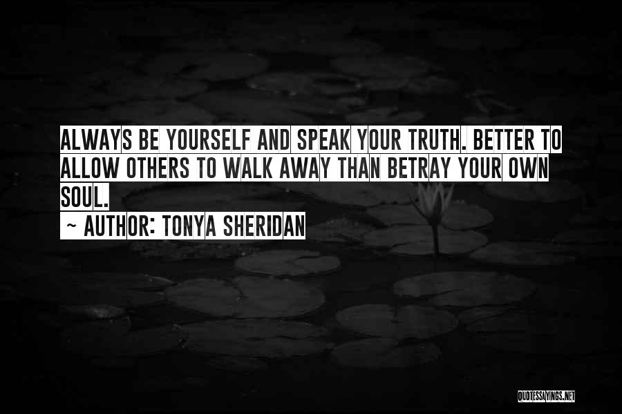 Tonya Sheridan Quotes 814353