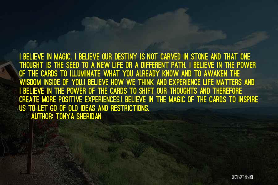Tonya Sheridan Quotes 955624