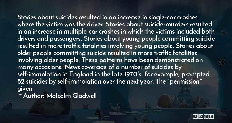 Too Late To Die Young Quotes By Malcolm Gladwell