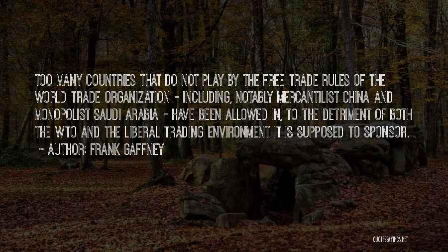 Too Many Rules Quotes By Frank Gaffney