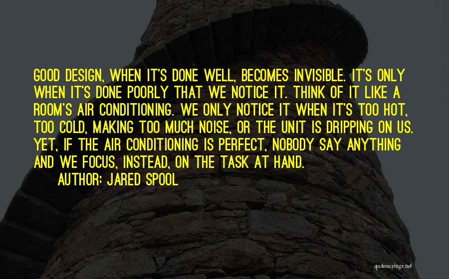 Too Much Noise Quotes By Jared Spool