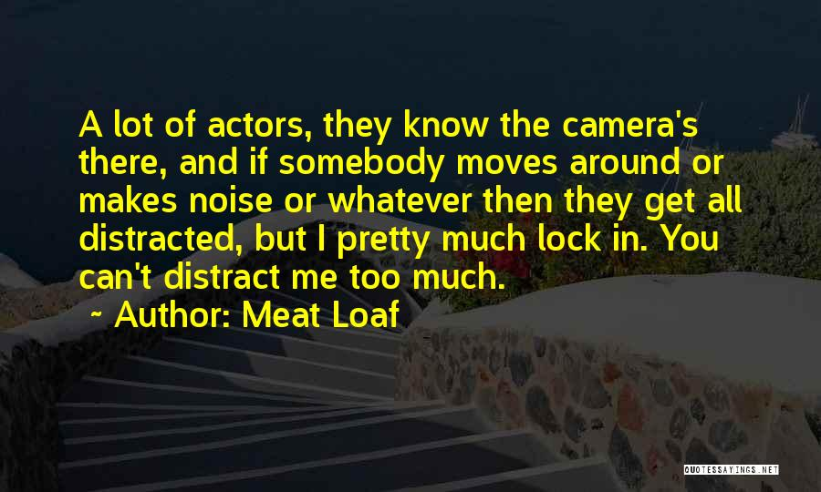 Too Much Noise Quotes By Meat Loaf
