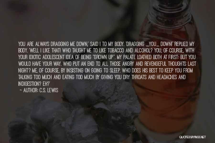 Too Much Talking Quotes By C.S. Lewis