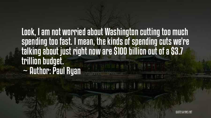 Too Much Talking Quotes By Paul Ryan