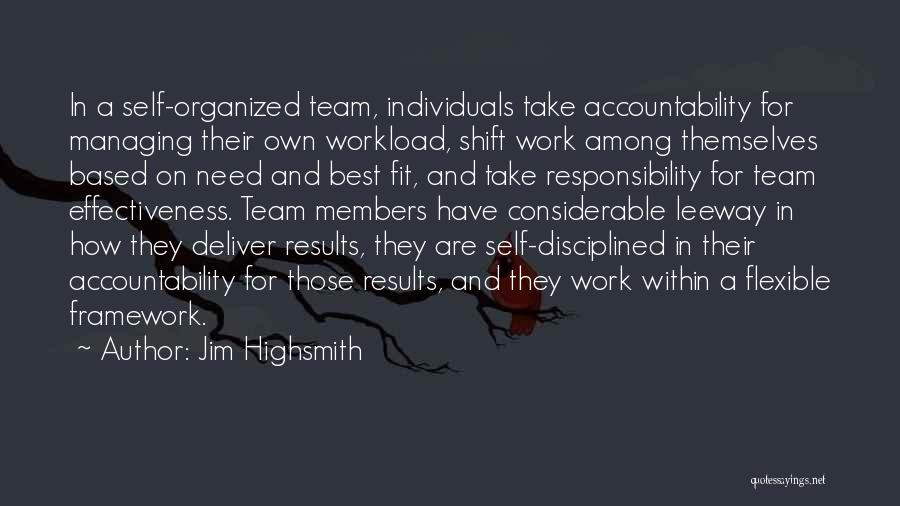 Too Much Workload Quotes By Jim Highsmith