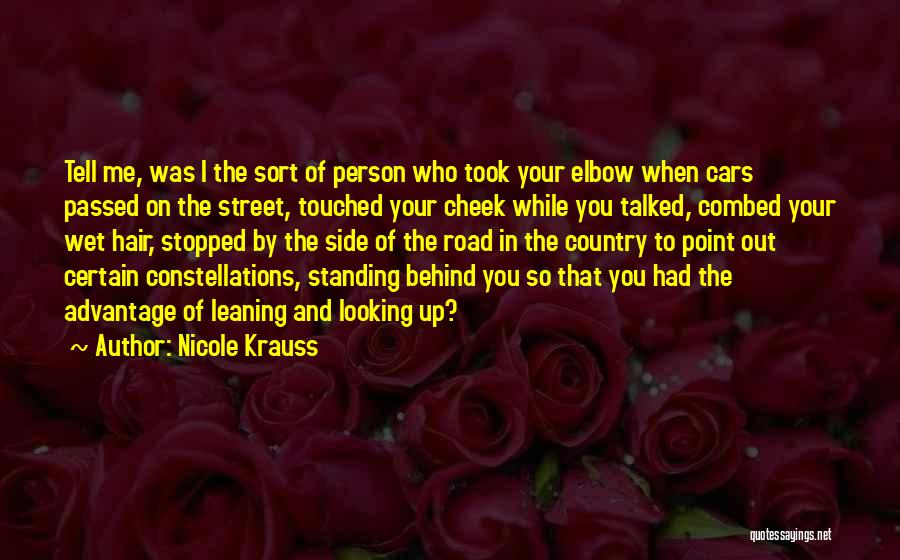 Took Advantage Of Quotes By Nicole Krauss