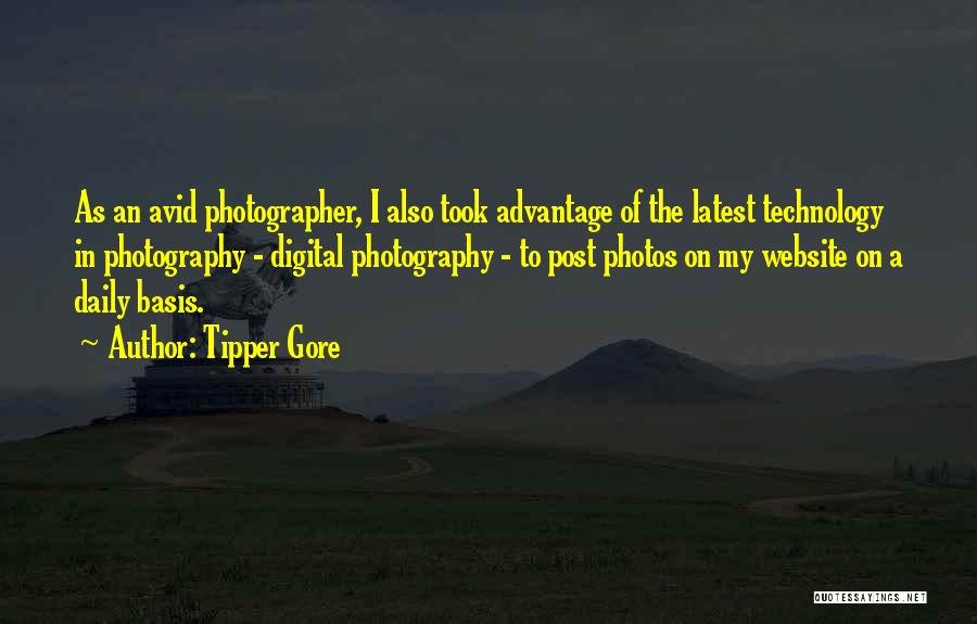 Took Advantage Of Quotes By Tipper Gore