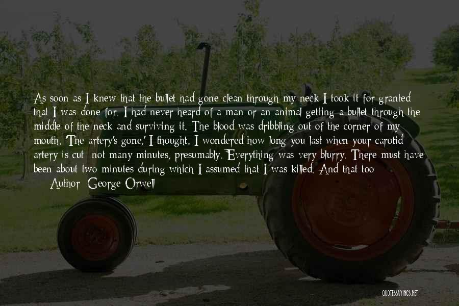 Took You For Granted Quotes By George Orwell