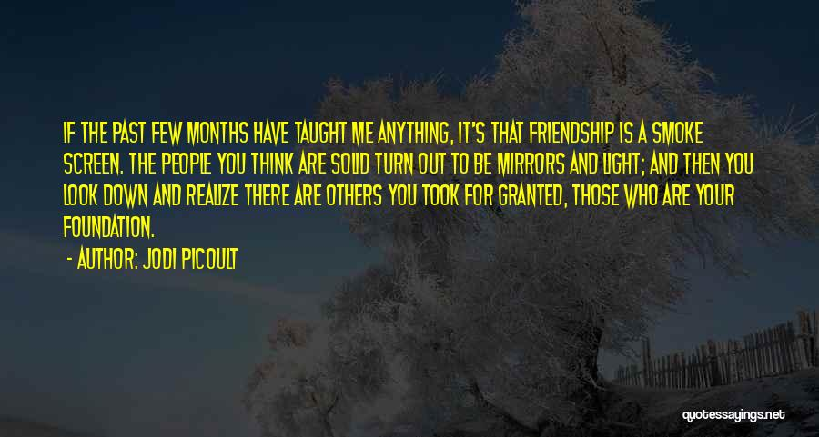 Took You For Granted Quotes By Jodi Picoult